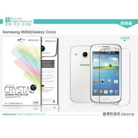 Защитная пленка Nillkin Crystal для Samsung i8262 Galaxy Core (Анти-отпечатки)