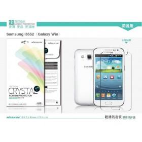Защитная пленка Nillkin Crystal для Samsung i8552 Galaxy Win (Анти-отпечатки)