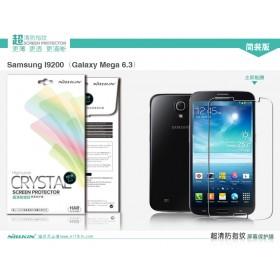 Защитная пленка Nillkin Crystal для Samsung i9200 Galaxy Mega 6.3 (Анти-отпечатки)