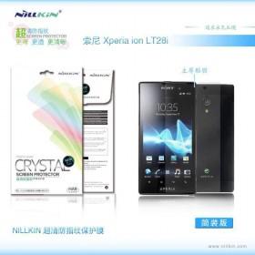 Защитная пленка Nillkin Crystal для Sony Xperia ION LT28i (Анти-отпечатки)