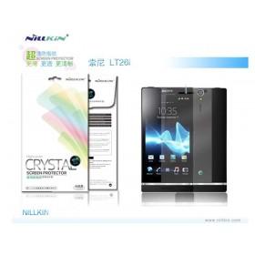 Защитная пленка Nillkin Crystal для Sony Xperia S / SL (Анти-отпечатки)