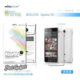 Защитная пленка Nillkin Crystal для Sony Xperia TX LT29i (Анти-отпечатки)