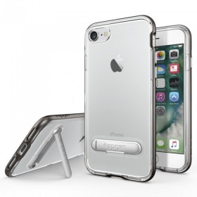 Защитный чехол Spigen для iPhone 7 Case Crystal Hybrid Gunmetal (SGP-042CS20459)