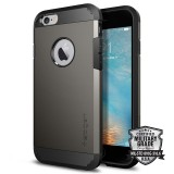 Защитный чехол Spigen Tough Armor Series для iPhone 6/6s (Gunmetal / SGP11022)