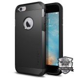 Защитный чехол Spigen Tough Armor Series для iPhone 6/6s (Smooth Black / SGP10968)