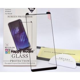 Защитное стекло 3D Happy Mobile Ultra Glass Premium (Asahi glass Full Glue) для Samsung Galaxy Note 9 (Full Kit, Case Friendly)