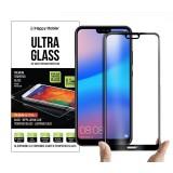 Защитное стекло для Huawei P20 Lite - Happy Mobile 2.5D Full Coverage & Full Glue (Black)