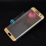 Защитное стекло Hаppy Mobile Ultra Glass 3d Curved для Samsung Galaxy S7 EDGE (Gold)