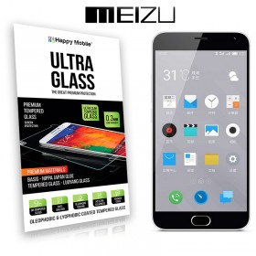 Защитное стекло Hаppy Mobile Ultra Glass Premium 0.3mm, 2.5D для Meizu M2