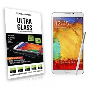 Защитное стекло Hаppy Mobile Ultra Glass Premium 0.3mm,2.5D для Samsung Galaxy Note 3