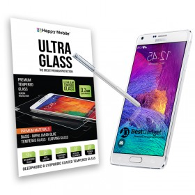 Защитное стекло Hаppy Mobile Ultra Glass Premium 0.3mm,2.5D для Samsung Galaxy Note 4