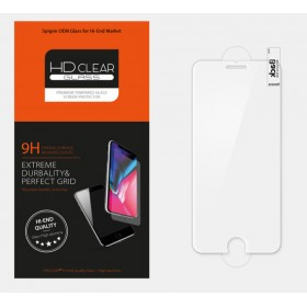 Защитное стекло HD Clear OEM by SPIGEN для iPhone 8 / 7 (SLIM HD with Wings)
