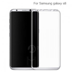 Защитное стекло HelloMo 3d Curved Japan Asahi Glass для Samsung Galaxy S8 (Прозрачное, без рамки)