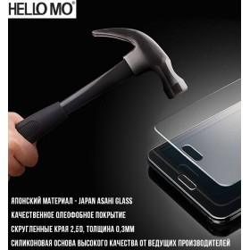 Защитное стекло HELLOMO для Xiaomi mi4c | mi4i (0.3mm, 2.5, Japan Asahi Glass)