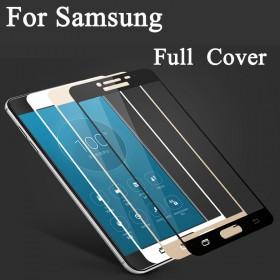 Защитное стекло Silk Samsung Galaxy A520 A5 2017 (Full Screen Золотое)