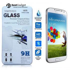 Защитное стекло TG Premium Tempered Glass 0.3MM 2.5D для Samsung Galaxy S4